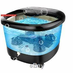 Acevivi Foot Mass Bath Bath Avec Chaleur, Massage Et Jets De Bulles, Motorisé