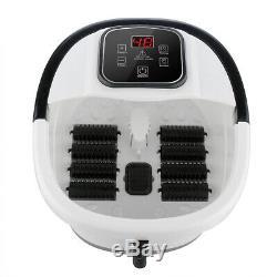 Acevivi Foot Spa Bain De Massage Bubble Affichage Led Chaleur Infrarouge Relax Minuterie Us