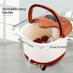 Acevivi Foot Spa Bain De Massage Shiatsu Chaleur Bubble Motorisé Rouleau Utilisation À Domicile