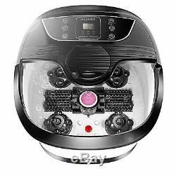 Acevivi Portable Foot Spa Bain De Massage Set Affichage LCD Chaleur Infrarouge Relax