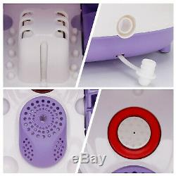 All In One Foot Spa Bain Led Massage Affichage Du Temps Set Temp Heat Rollers Grand