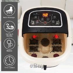 All-in-one Foot Spa Massager Avec 4 Rouleaux Cheville De Bain Accueil Thermothérapie Machine