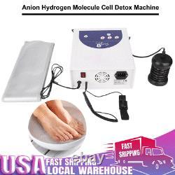 Anion Detox Foot Basin Bath Spa Cleanse Machine Array Soins De Santé 110v