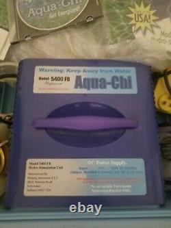 Aqua Chi Bain De Pieds Modèle 5400 Fb Hydro-stimulation Spa Professionnel