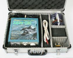 Aqua-chi Série Professionnelle 11 Bio Detox Bain De Pieds Hyrdo-stimulation Spa W Cas