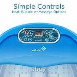 Baignoire Chauffante De Massage Spa Pied, Rouleaux De Massage Automatique, Vibration