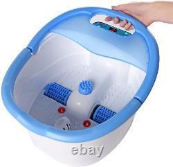 Baignoire Chauffée Ivation Foot Spa, Rouleaux De Massage Automatique, Vibration, B