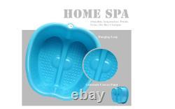 Baignoire De Bain De Pied À La Maison Pieds Spa Tub Laver Le Bassin Leg Bucket Detox Massage Pedicure