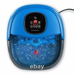 Bain De Bain Électrique Chauffé De Bain De Pied De Bassin De Spa De Pied Avec Le Massage Automatique