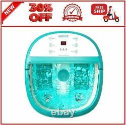 Bain De Bain Spa Pied Soaking Tub Avec Chaleur 6 X Rouleaux De Nœud De Pression