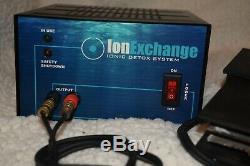 Bain De Pieds Ion Échange D'ions Ionique Pied Detox Spa Machine! Satisfaction Garantie