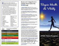 Bain De Pieds Ionique Detox Spa Cleanse Detox Facile À Utiliser. Avec Extras Garantie 1 An