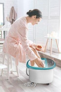 Bain De Pieds Masseur Avec Chaleur Pied Spa Machine Pieds Baignoire Dispose De Vibrat