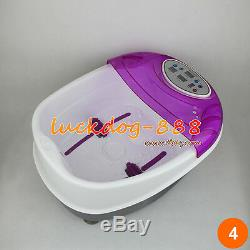 Bain De Pieds Pour Spa Aqua Cleanse + Massager 2 Tableaux