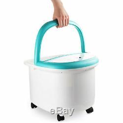 Belmint Foot Spa Bain De Massage Avec Baignoire Heat Pied Caractéristiques Bulles Un