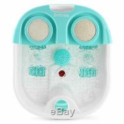 Belmint Foot Spa Bain De Massage Avec Chaleur -pied Masseur Pieds Machine Tremper Bain