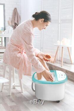 Belmint Pied Hot Spa Bain De Massage Avec Chaleur Tremper Bain À Bulles Caractéristiques