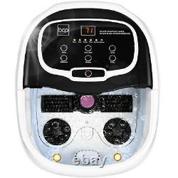 Best Choice Products Portable Heated Shiatsu Foot Bath Massage Spa Avec Ponce
