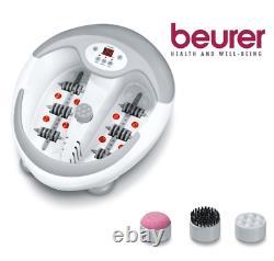 Beurer Fb50 Foot Spa Massager Machine De Soulagement De La Douleur Relax Bain Bulle Vibratin