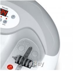 Beurer Fb50 Foot Spa Massager Machine Soulagement De La Douleur Relax Bubble Bath Vibratin