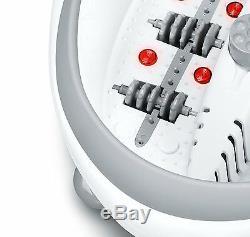 Beurer Fb50 Spa De Luxe Avec Bain À Remous Avec Chauffe-eau + Massage À Bulles Et Vibrations
