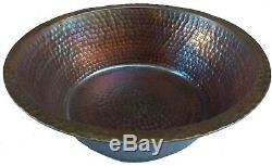Bronze Antique Copper Patina Bain De Pieds De Lavage Massage Balnéothérapie Bowls Pédicure