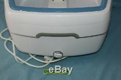 Brookstone Aqua Footbath Tremper Foot Spa Bain Avec Chaleur Fb001 Us
