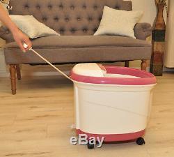 Carepeutic Deluxe Hydro Therapy Massager Pour Le Bain De Pieds Et Jambes Kh307p02