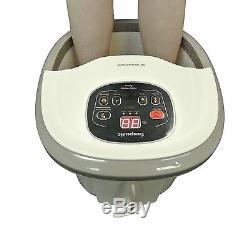 Carepeutic Deluxe Hydrothérapie Pieds Et Des Jambes Baignoire Spa Massage Kh301
