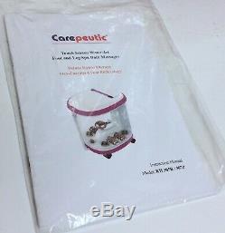 Carepeutic Deluxe Hydrothérapie Pieds Et Des Jambes Baignoire Spa Massage Kh307p02
