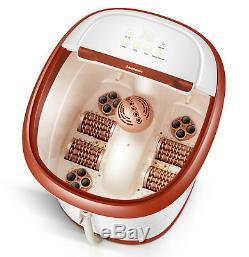 Carepeutic Écran Tactile Jet D'eau Pieds Et Des Jambes Baignoire Spa Massage Kh305brown
