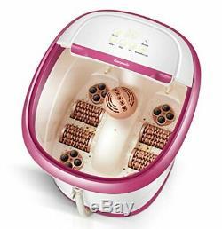 Carepeutic Écran Tactile Jet D'eau Pieds Et Des Jambes Baignoire Spa Massage Kh307purple