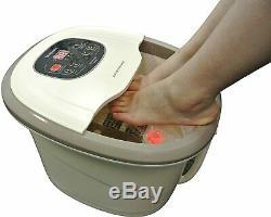 Carepeutic Motorisé Hydrothérapie Pour Pieds Et Des Jambes Spa Bain De Massage, Crème