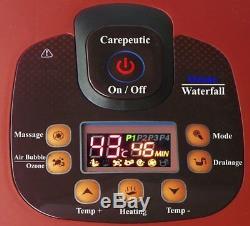 Carepeutic Ozone Massager Pour Le Bain De Pieds Et Jambes Avec Spa, 20 Livres