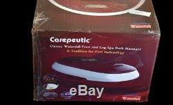 Cascade Ozone Carepeutic Pieds Et Des Jambes Baignoire Spa Massage Kh2981015 Box Ouvert