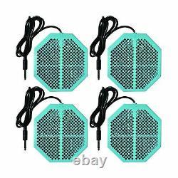 Cell Spa 4 Pack Cs-900 Deux Fois Puissant 6,5 X 5,5 Arrays De Bain De Pied De Désintoxication D'ions