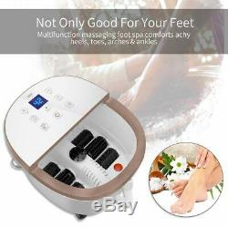 Cloris Foot Spa Bain De Massage Temp / Time Set Infared Heat Bubble Leddisplay Intelligent