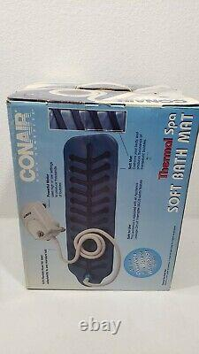 Conair Body Bénéficie Puissant Full Body Massager Thermal Spa Soft Bath Mat