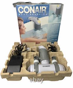 Conair Body Benefits Bts2 Deluxe Hydro Bath Spa Tub Jet Massager Avec Lumière D'humeur