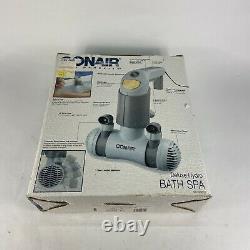 Conair Body Benefits Bts2 Deluxe Hydro Bath Spa Tub Jet Massager Double Jet D'eau