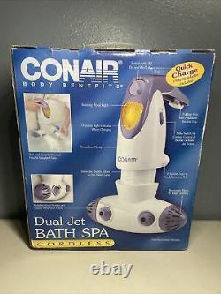 Conair Body Benefits Dual Jet Bath Spa Bts 4 Nouveau