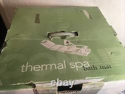 Conair Body Thermal Spa Bath Mat. Neck Foot, Massage Vibrant. Contrôle. Nouveau