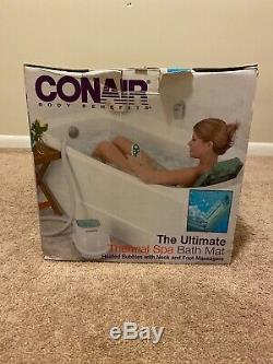 Conair Mbts4sr The Ultimate Full Body Thermal Spa Tapis De Bain Withfoot Masseur Nouveau