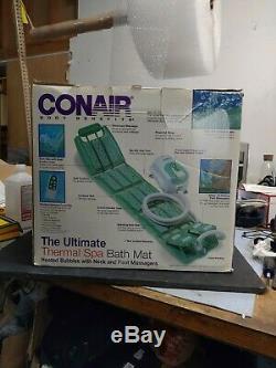 Conair Mbts4srr The Ultimate Full Body Thermal Spa Tapis De Bain Et De Massage Des Pieds Retour