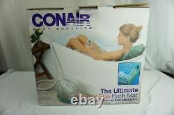Conair Mbts4srr Ultimate Thermal Spa Heating Bath Mat Avec Remote New