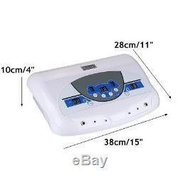 Désintoxication Ionique Double Cellule Ion Spa Bain De Pieds Nettoyer La Machine Avec Écran LCD Et Infrarouge