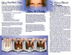 Detox Foot Spa Bain De Pieds Ionique Cleanse Detox Avec Extras Gratuits. 1 An De Garantie