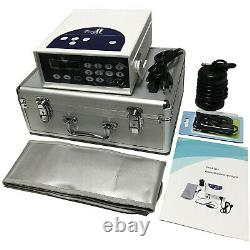Detox Machine Cell Ion Ion Ionic Aqua Foot Baignoire Spa Cleanse Machine Infrarouge Ion Kit