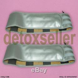 Double Detox Désintoxication Leg Bain De Pieds Spa Aqua Ionique Nettoyer La Machine + 4 Tableau