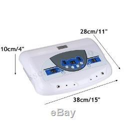 Double Spa Ionique De Bain De Pieds Ionique Detox Cell Nettoyer La Machine Avec Écran LCD Et Ceinture Infrarouge